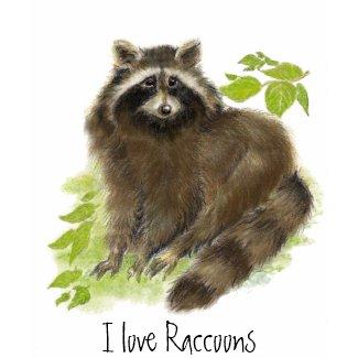 Cute Raccoon Nature shirt
