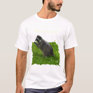 Cute RACCOON Wildlife T-shirt