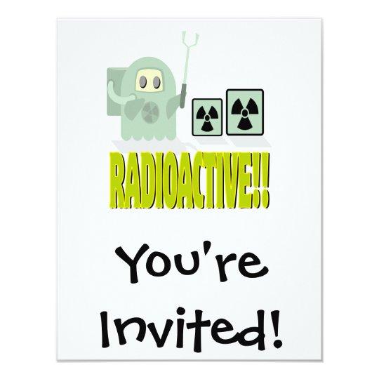 cute radioactive dude card