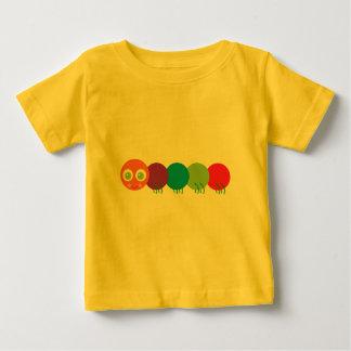 Cute Rainbow Caterpillar Baby T-Shirt