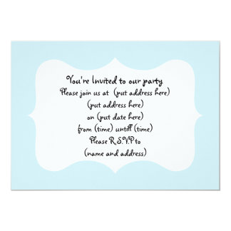 Cute Rainbow Houses Housewarming 5x7 Paper Invitation Card