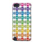 Cute Rainbow Owl Pattern iPod Touch Case