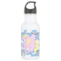 Cute Rainbow Pattern Water Bottle