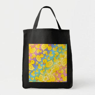 Cute rainbow rubber ducks bag