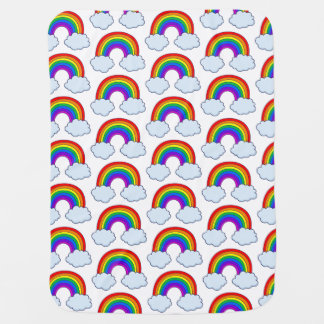 Cute Rainbow Swaddle Blanket