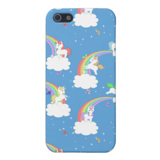 Cute Rainbows and Unicorns Cover For iPhone SE/5/5s