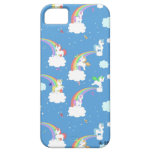 Cute Rainbows and Unicorns iPhone 5 Case