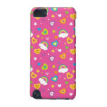 cute rainbows hearts and stars pattern iPod touch 5G cover