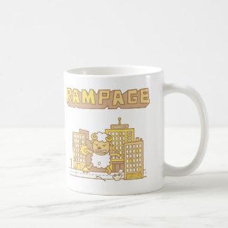 Cute Ram Rampage Pun Humor Coffee Mug
