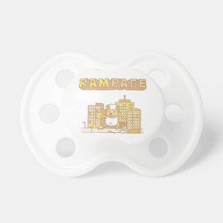 Cute Ram Rampage Pun Humor For Babies BooginHead Pacifier