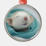 Cute Rat Christmas Ornament