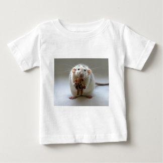 Cute Rat Holding teddy Baby T-Shirt