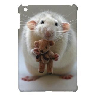 Cute Rat Holding teddy Case For The iPad Mini