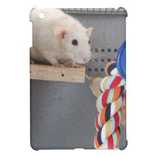 Cute rat in cage cover for the iPad mini