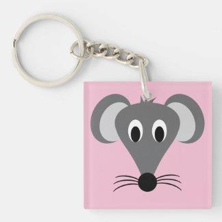 Cute Rat Keychain