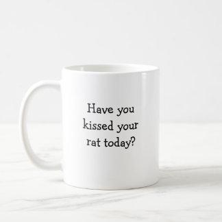 Cute rat mug
