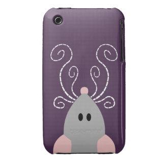 Cute Rat or Mouse Casemate iPhone 3 Case-Mate Case