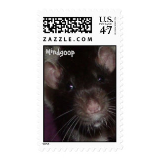 cute rat postage stamps