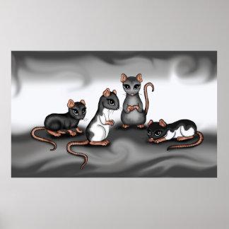 cute Rats poster