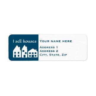 Cute real estate label