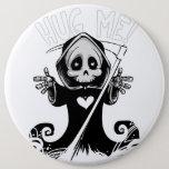 Cute reaper-baby reaper-cartoon reaper-baby grim button