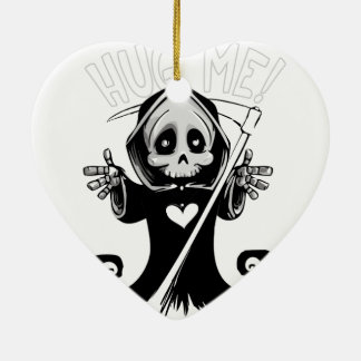 Cute reaper-baby reaper-cartoon reaper-baby grim ceramic ornament