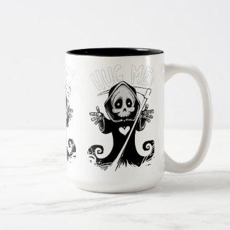 Cute reaper-baby reaper-cartoon reaper-baby grim Two-Tone coffee mug