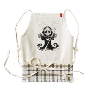 Cute reaper-baby reaper-cartoon reaper-baby grim zazzle HEART apron