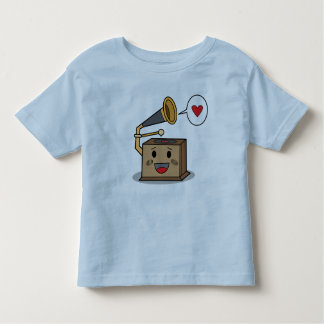 Cute Record Player -Toddler's T-Shirt