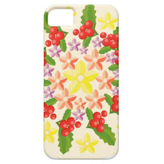 Cute Red Berry Garland Pattern iPhone SE/5/5s Case