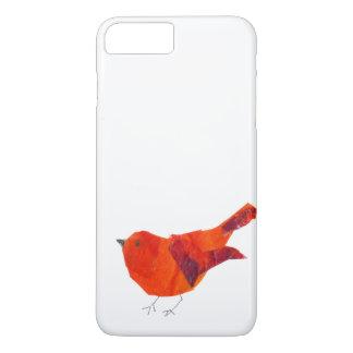 Cute Red Bird iPhone 7 Plus Case