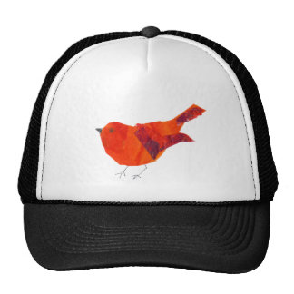 Cute Red Bird Trucker Hat