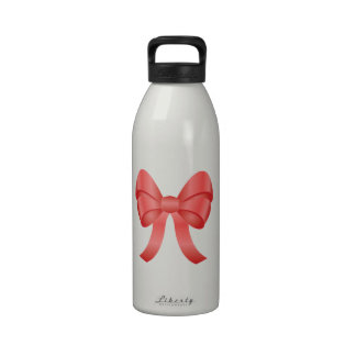Cute Red Bow Drinking Bottle