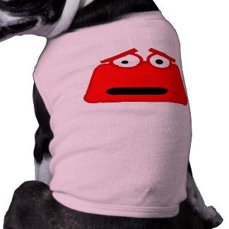 Cute Red Cartoon Monster Shirt