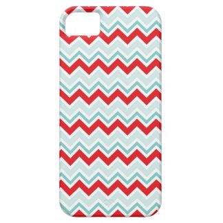 Cute Red Chevron Winter iPhone 5 Case