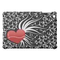 cute red chic heart case for the iPad mini