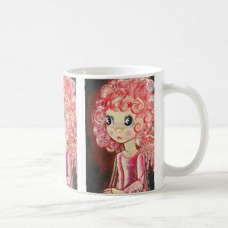 Cute Red Christmas Angel Mug