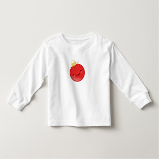 Cute Red Christmas Ornament Toddler T-shirt