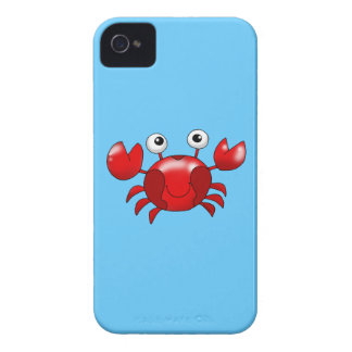 Cute red crab iPhone 4 cover