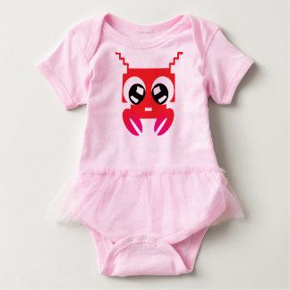 Cute Red Crustacean Baby Bodysuit