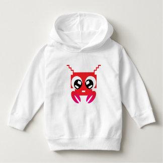 Cute Red Crustacean Hoodie