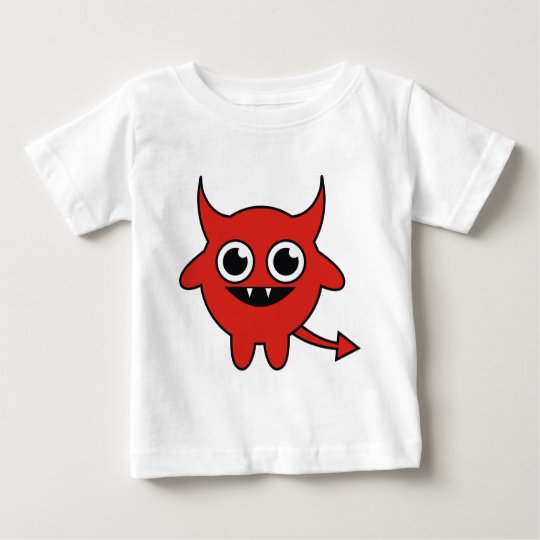 Cute Red Devil Baby T-Shirt