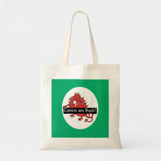Cute Red Dragon Budget Tote Bag to Personalize