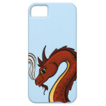 Cute Red Dragon Head iPhone 5 Covers