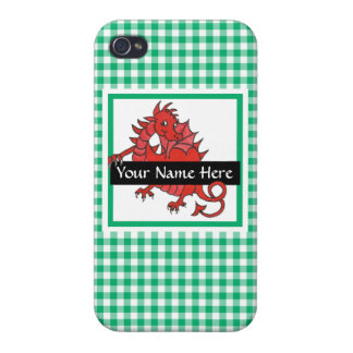 Cute Red Dragon iPhone 4 Case to Personalize