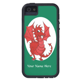 Cute Red Dragon iPhone 5/5s Case to Personalize