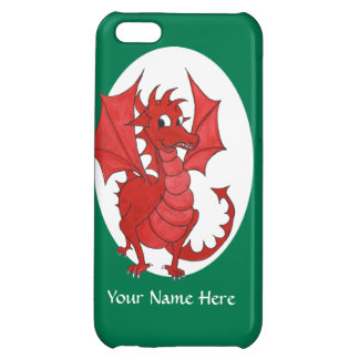 Cute Red Dragon iPhone 5c Case to Personalize