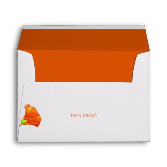 cute red floral wedding invitation a7 envelopes zazzle com