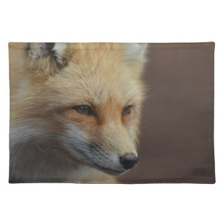 Cute Red Fox Cloth Placemat