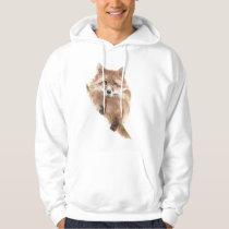 Cute Red Fox, Foxy Wildlife, Animal, Nature Hoodie